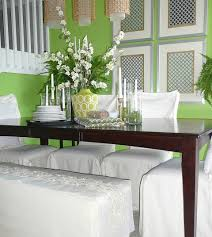 Hanging Large Framed Fabric Pieces Are Ideal Focal Wall