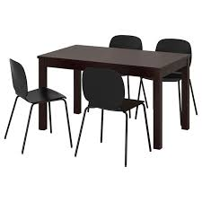 Table And 4 Chairs LANEBERG / SVENBERTIL Brown, Black Black Steel Ding Room Chairs Kallekoponnet Modern Narrow Table Set Cute With Photo Of 36 Round Natural Laminate With Xbase And 4 Ladder Back Metal Black Vinyl Seat 2 Ding Tables 8 Chairs In Metal Black Retro Design Square Walnut Grid Barstools Amazoncom Shing Wood Laneberg Svenbertil Brown Lucano Marble Leather Mesmerizing Iron Legs Reclaimed Base 5 Piece Kitchen Tag Archived Of Polyurethane Likable Pcs Table