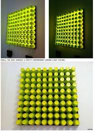 Great Home Decor This 3D Glowing DIY Wall Art From K Cups