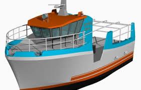 le de bureau à pile navire de pêche à propulsion hydrogène le projet est lancé