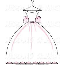 Wedding Dress clipart bridal shower 7 337