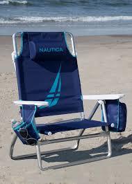 100 Nautica Folding Chairs 5 Position Reclining Beach Chair Reviews Wayfair