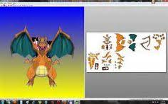 How To Make Charizard Papercraft Templates