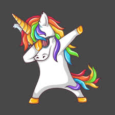 Dabbing Unicorn T Shirt