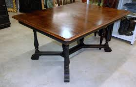 Image Of Antique Country Farmhouse Tables