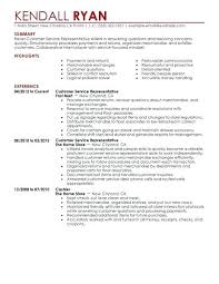 Sample Resume Customer Service Representative Skills You Build Your Resentative Faster Use The Written Text Or