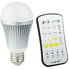coidak 9w e26 dimmable led light bulb warm cool white color