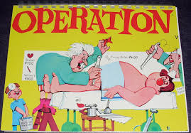 Operation Board Game Clipart