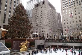 Rockefeller Plaza Christmas Tree Address by Rockefeller Center Ice Skating With Santa Magical Traveling Mom