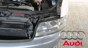 audi a6 c5 headlight removal diy how to remove headlights from