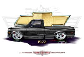 Chevy C10 Drawing At GetDrawings.com | Free For Personal Use Chevy ...