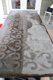 Diy Wooden Table Top by Best 20 Concrete Table Ideas On Pinterest U2014no Signup Required