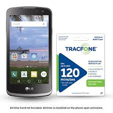 Amazon TracFone LG Rebel 4G LTE Prepaid Smartphone with Free