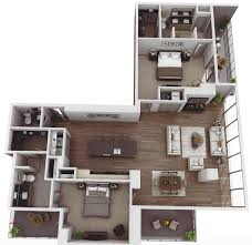 104 Two Bedroom Apartment Design Museum Tower S Ask For 1 805 6 750 Month In Rent View Floor Plans And Rooftop Pool Axios Charlotte
