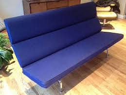 Eames Compact Sofa Herman Miller by Tri State Antiques Sold Modern