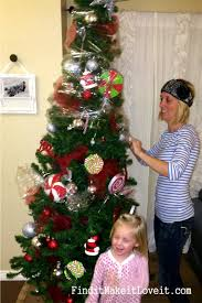 Saran Wrap Christmas Tree With Ornaments by How I Store My Christmas Tree Find It Make It Love It