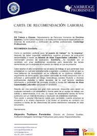 Carta De Presentacion Model 2