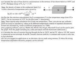 si e de bar solved calculate the ratio of free electron concentration