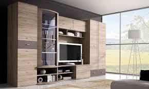 wohnwand grau mit kleiderschrank 80 cm wohnzimmer set anbauwand 5 tlg led