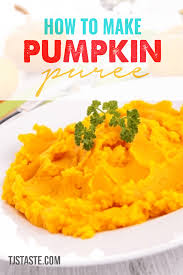 Pumpkin Puree Vs Easy Pumpkin Pie Mix by Pumpkin Puree How To Make Homemade Pumpkin Puree Tjstaste Com