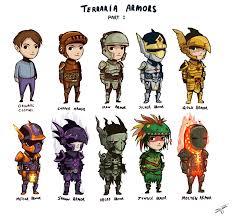 James Fong 176 51 Terraria Armors by deadinsane