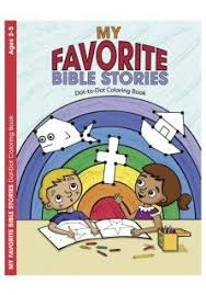 MY FAVOURITE BIBLE STORIES COLOURING BOOK