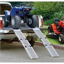 ATV Ramps - Larin® Foldable Truck Ramp Set - 99942, Roof Racks ... Heavy Duty Ramps Llc Our Mission Has Always Been To Provide The Big Horn Tri Folding Alinum 80in Truck Bed Loading Ramp For Atvs Atv Shark Kage Motorcycle Loading Ramp Modular Trailer System 5000lb Per Axle Capacity Rhino Vehicle Horsepower Hub Larin Foldable Set 99942 Roof Racks Tailgate Diy Trucks Accsories Chevy Trucks Princess Auto Product Review Champs Illustrated Stock Photos Images Alamy