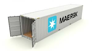 100 Shipping Container Model Maersk 3D In S 3DExport
