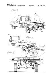 Deweze Bale Bed by Patent Us4594041 Truck Bed Bale Lift Google Patents
