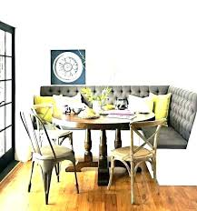 Kitchen Corner Bench Seating Dining Room Table With