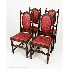 Set Of Four Antiquue Solid Oak Early 20th Century Dining ... Carved Mahogany High Back Ding Side Chairs Collectors Weekly Arm Chair Kiefer And Upholstered Rest From Followbeacon Antique Vintage Set Of 6 Edwardian Oak French Style Fabric Solid Wood Wooden Buy Chairupholstered Chairssolid Beautiful Of Eight Quality Victorian 19th Century Renaissance Throne Four Antiquue Early 20th Art Deco Classical Chinese Fniture A Collecting Guide Christies Pdf 134