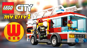 LEGO FIRETRUCK: Fire Frenzy - LEGO City My City 2 - LEGO Games For ...