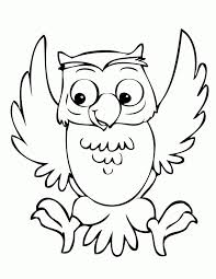 Pin Drawn Owlet Coloring Page 2