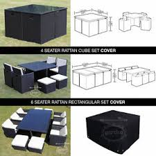 Ebay Patio Table Cover by Rattan Garden Furniture Cover Waterproof Outdoor Protect Cube