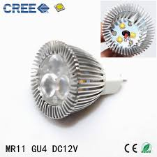 dimmable mr11 led light bulb 35mm diameter 3w 12v 450lm bright