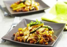 cuisiner la pomme de terre pommes de terre sautées au poulet et courgette croquons la vie