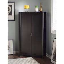 South Shore Morgan Storage Cabinet Pure Black by Door Storage Cabinet Black Cabinet Kitchen Photo With Charming