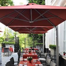 Square Commercial Umbrellas