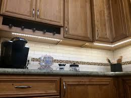 kitchen 240v led cabinet lighting hardwired cabinet