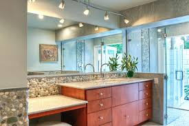 Chandelier Over Bathroom Vanity by Track Lighting For Bathroom Vanity U2013 Chuckscorner