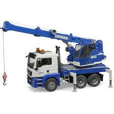 Bruder MAN TGS Crane Truck With Light & Sound Module - Buy At BRUDER ...