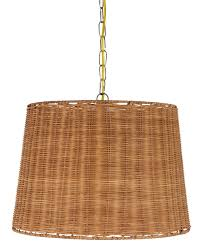 Plug In Swag Lamp Kit by Upgradelights Wicker Rattan Swag Lamp Lighting Fixture Hanging