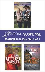 Harlequin Love Inspired Suspense March 2018