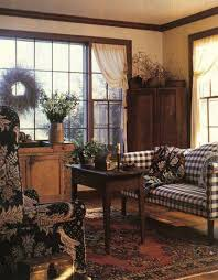 Primitive Living Room Curtains by Living Room Awesome Primitive Curtains For Decoration Gingham