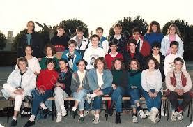 photo de classe 1987 college mont d or 04100 manosque 5 eme d