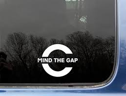 Amazon.com: Mind The Gap - 3 3/4