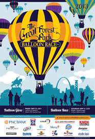 Printed Materials Designed For Great Forest Park Balloon Race