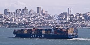 100 Shipping Containers San Francisco FileContainer Ship CMA CGM Vivaldi IMO 9286267