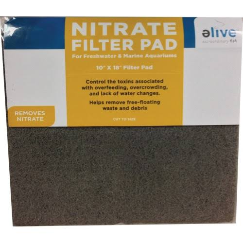 "Nitrate Filter Pad - 10""x18"""