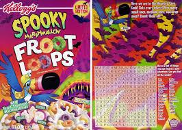 Spooky Froot Loops Box